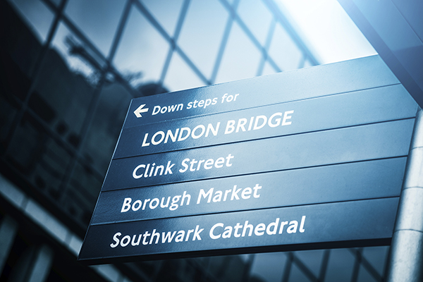Borough Market London Bridge London Sign