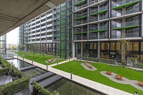 communal gardens Riverlight