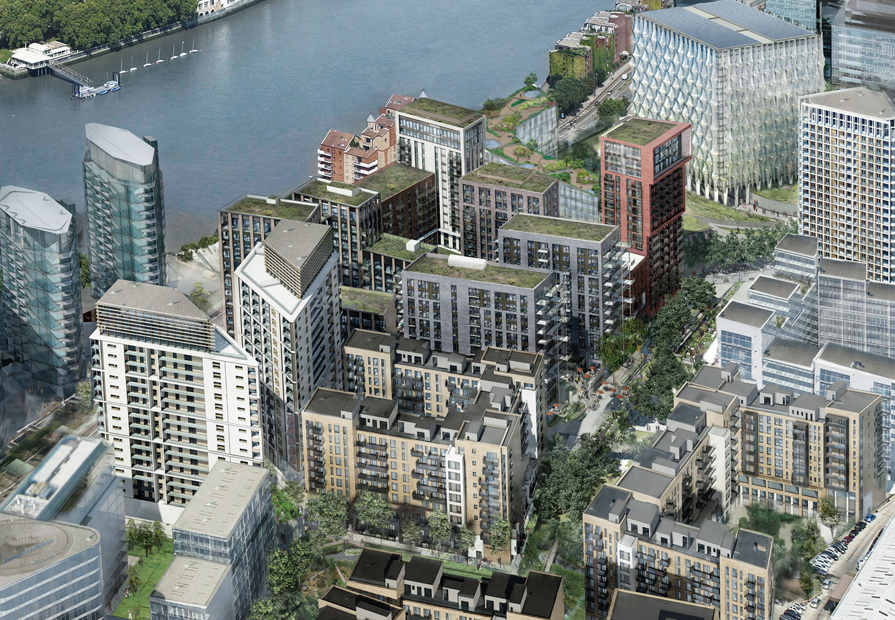Embassy gardens development nine elms london sw8 for Consul high availability
